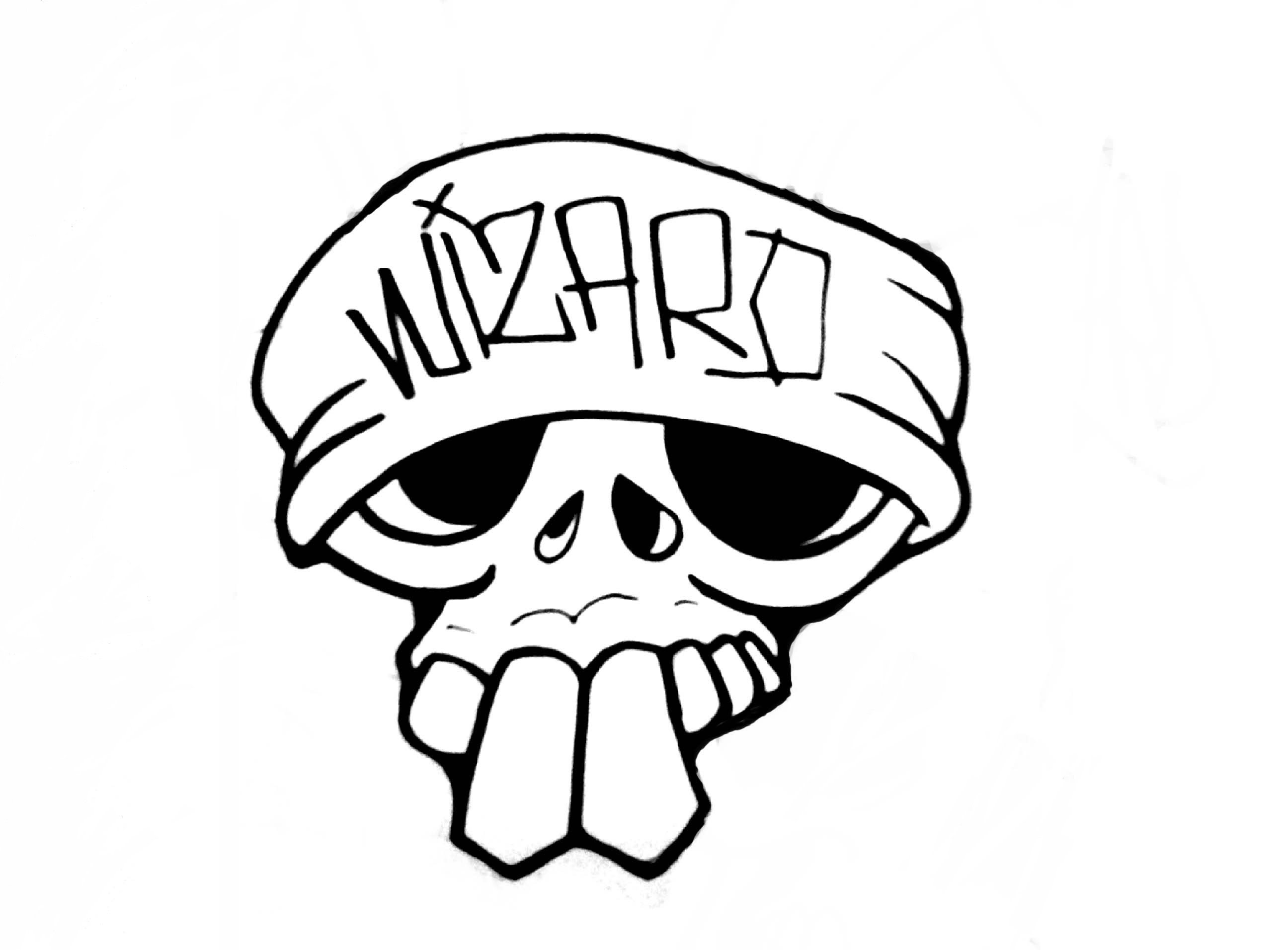 2592x1912 Skull Drawing Easy For Free Download