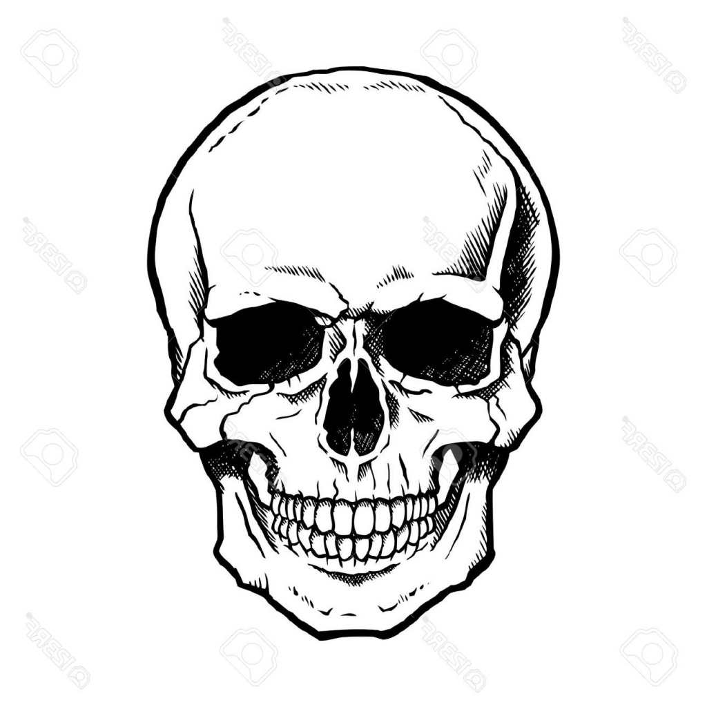 1024x1024 skull drawing simple how to draw a simple skull easy skull