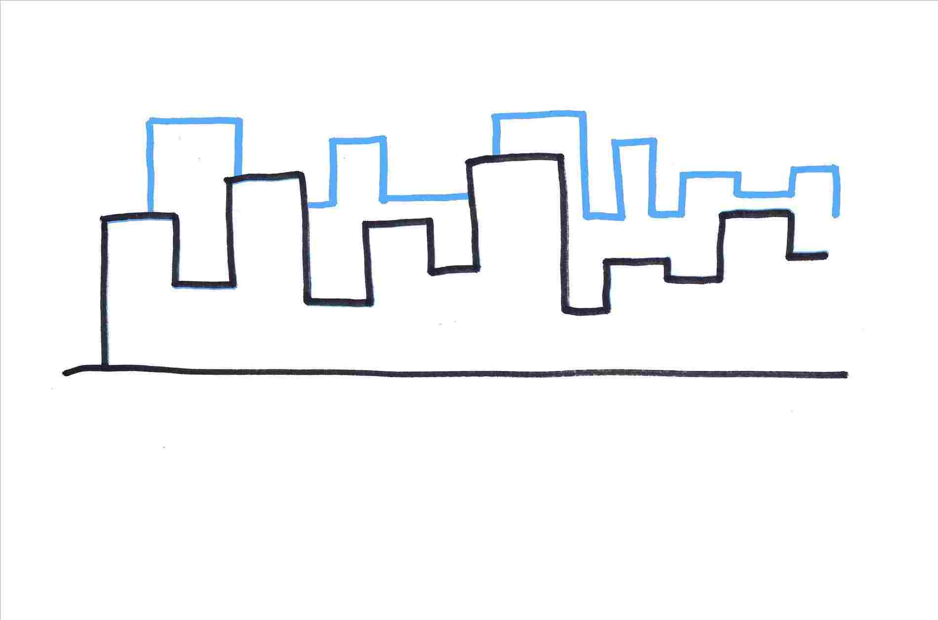 1900x1257 How To Draw A City For Kids