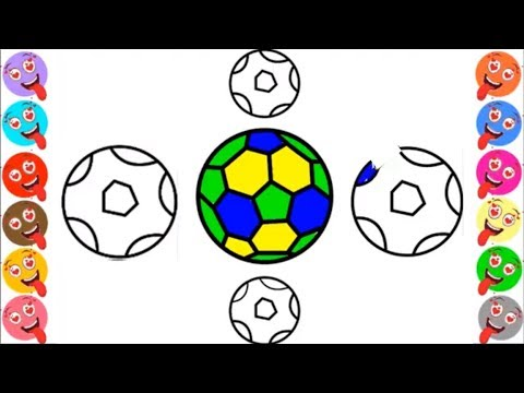 480x360 Football Coloring Pages Learn Colors For Kids