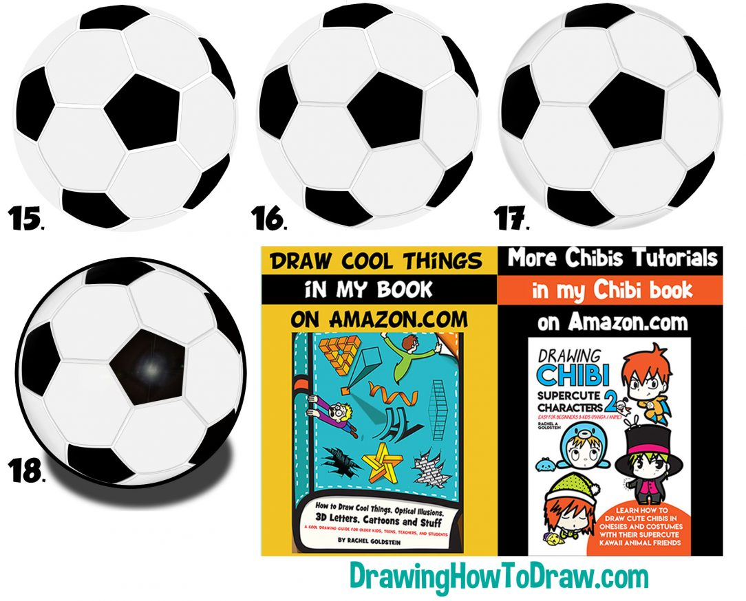 1084x874 Soccer Ball Drawing Easy Steps Images Of A And Net Cartoon I