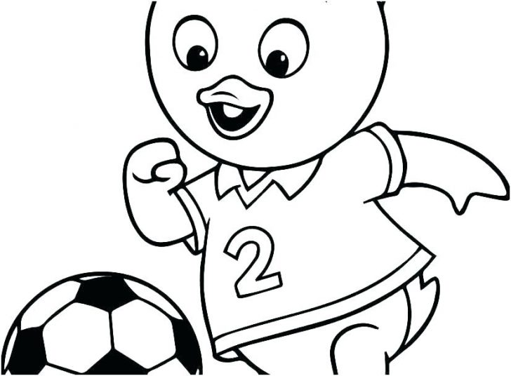 728x536 Soccer Goal Coloring Pages Disney Online Mandala For Kids Cars