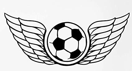 425x231 Soccer Wings Football Transfer Tattoos Tattooing