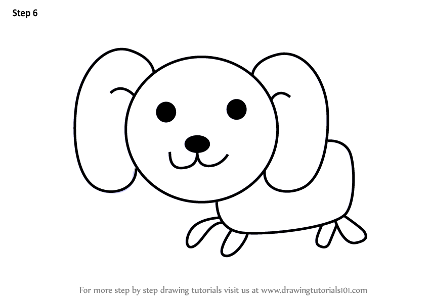 848x602 Huge Collection Of 'dog Drawing For Kids' Download More Than