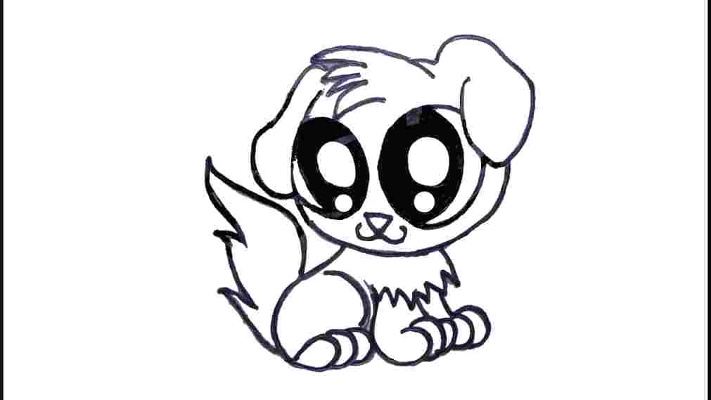 1011x569 Draw A Puppy Face