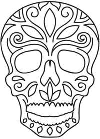199x277 Skull Drawing Easy Dia De Los Muertos Troller Us