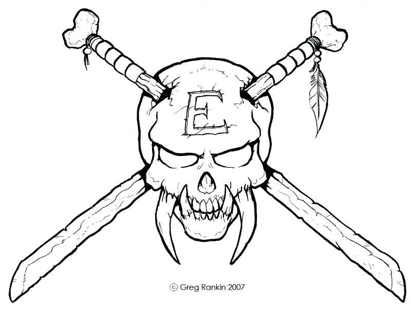 800x608 Easy Skeleton Drawing Ways To Draw A Skull Easy Skeleton
