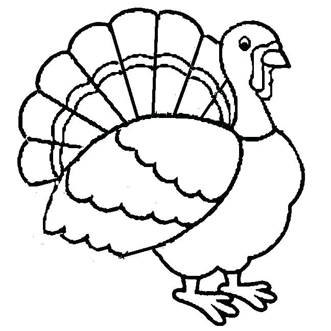 Easy Turkey Drawing | Free download on ClipArtMag