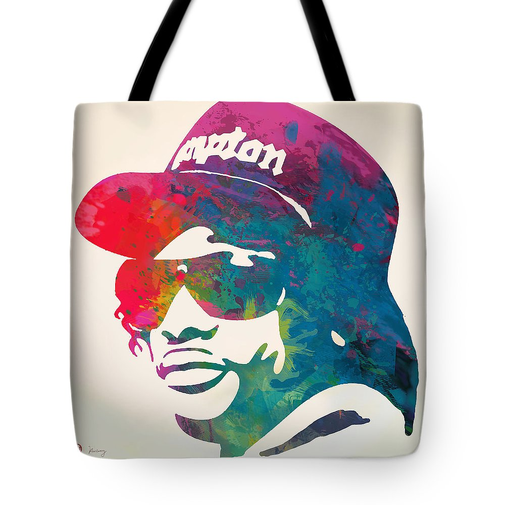 1000x1000 eazy e pop stylised pop art poster tote bag for sale