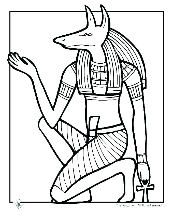 680x880 egyptian gods coloring pages ancient coloring pages ancient