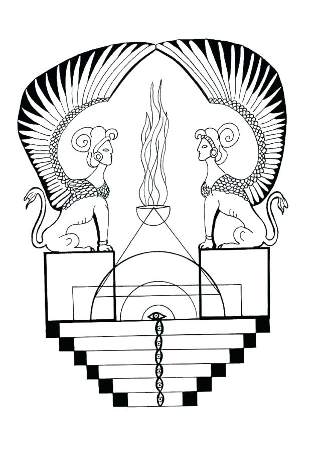 640x905 ancient egypt coloring pages ancient coloring pages monuments