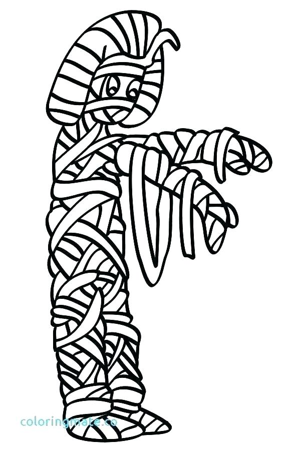 599x899 egyptian mummy coloring pages mummy coloring