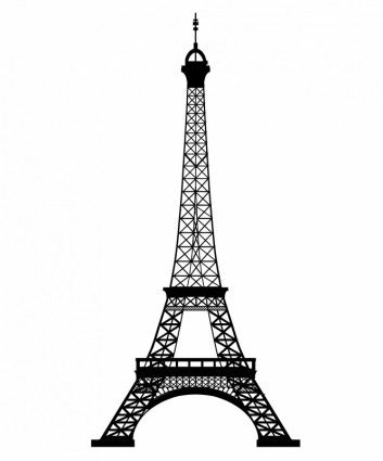 353x425 eiffel tower vector eiffel tower clip art, eiffel tower