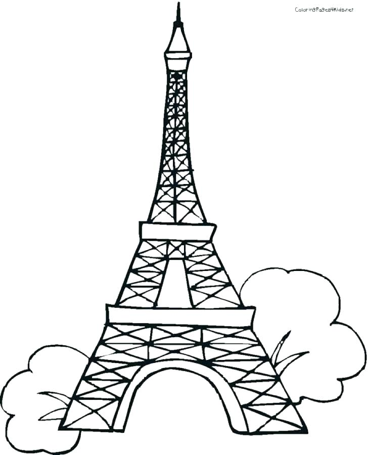 graphic relating to Eiffel Tower Printable named Eiffel Tower Drawing 3d Absolutely free obtain most straightforward Eiffel Tower