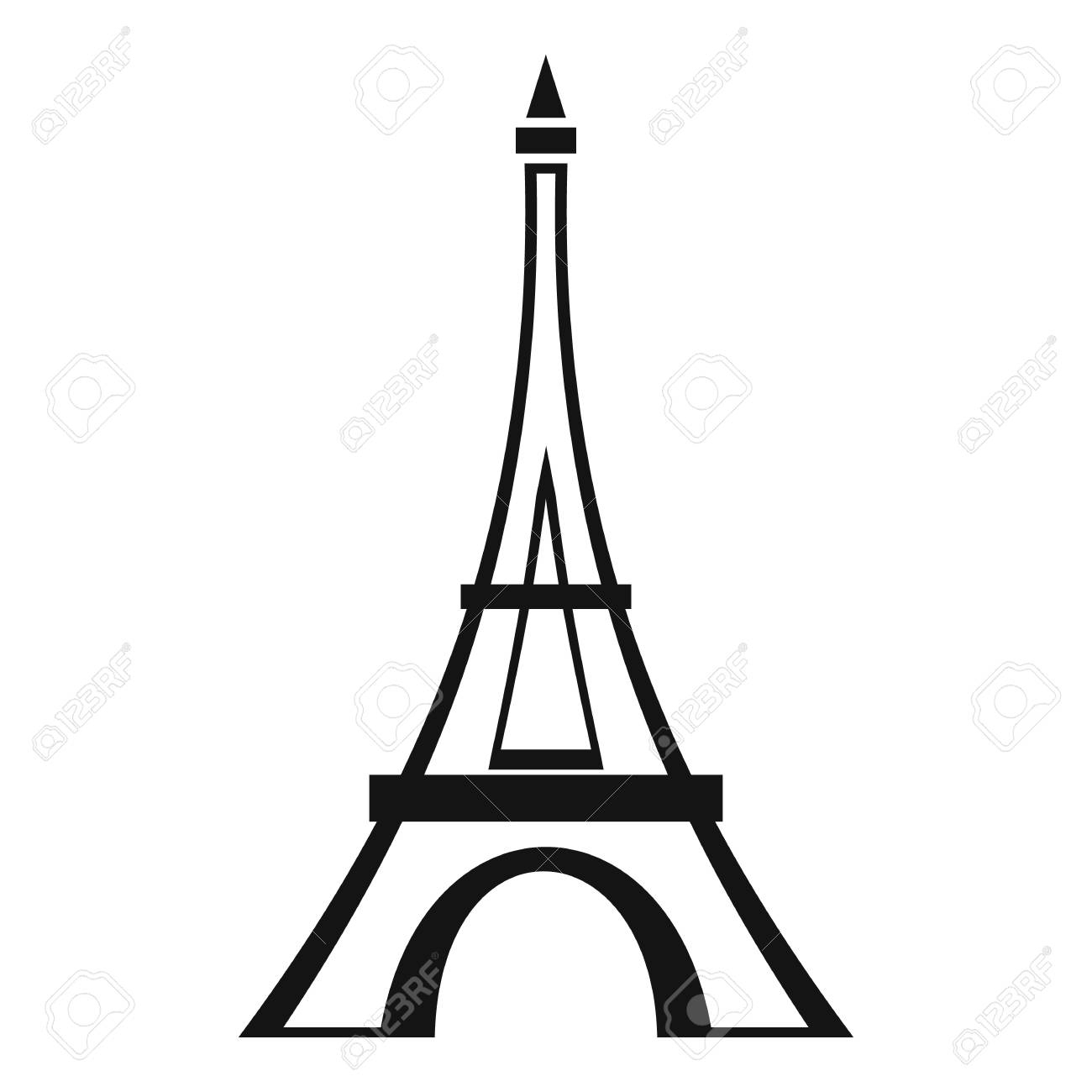1300x1300 eiffel tower easy sketch simple eiffel tower drawing eiffel tower
