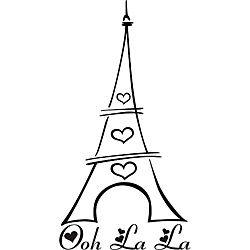 250x250 ooh la la paris eiffel tower art, eiffel tower painting, paris