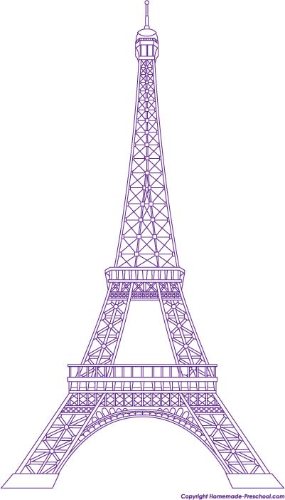 401x702 free eiffel tower clipart art eiffel tower drawing, eiffel