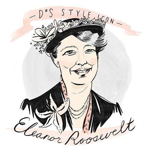 500x500 style icon eleanor roosevelt illustration style icons, design