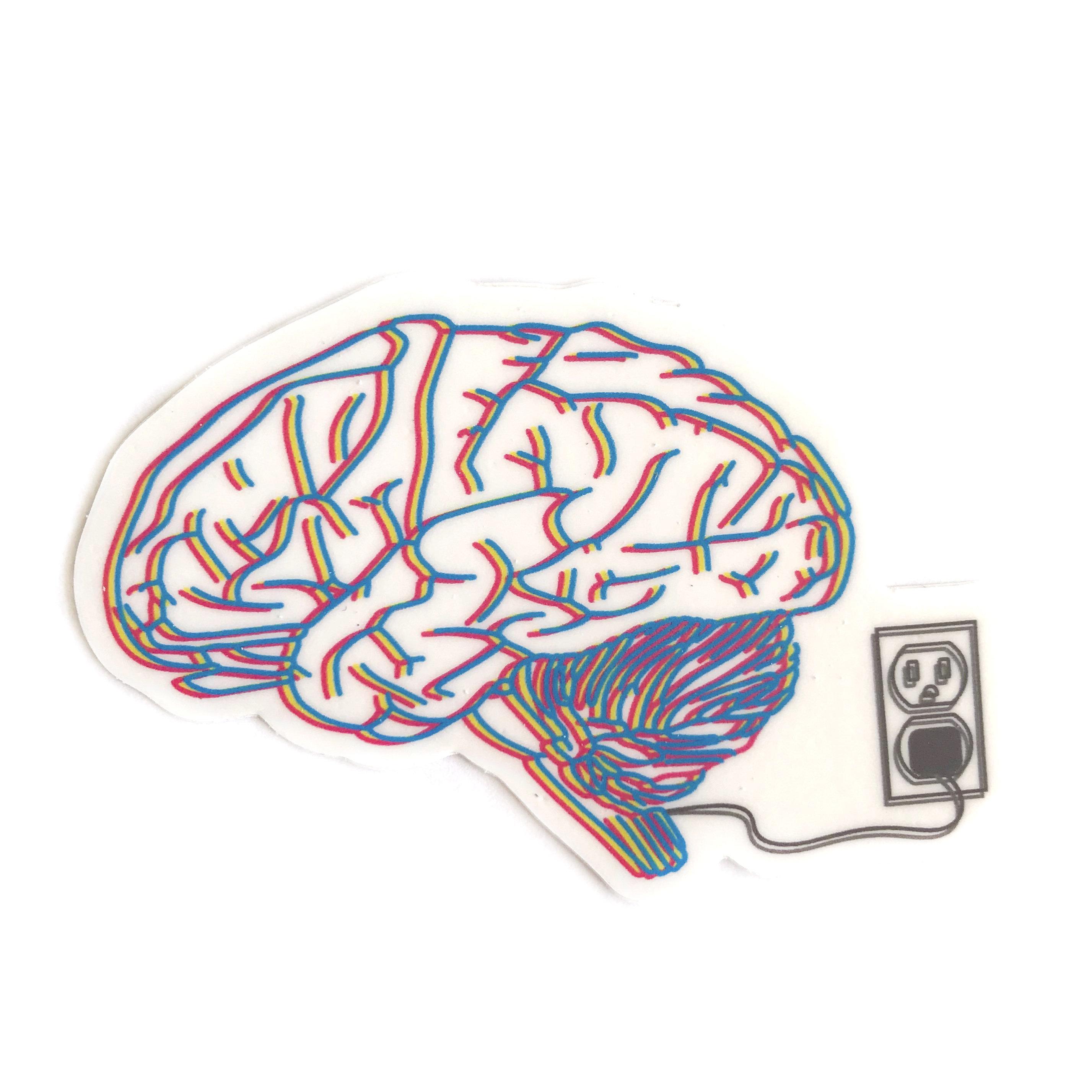 2855x2855 anatomy sticker vinyl sticker electric shock therapy brain etsy