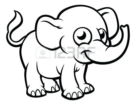 450x346 outline elephant light blue elephant clip art elephant outline