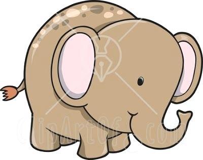 400x316 Easy Elephant Drawing Easy Elephant Drawings Step