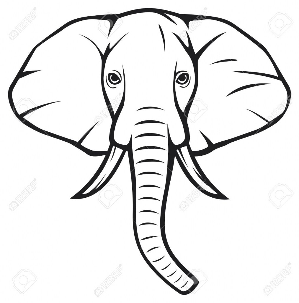 1013x1024 Elephant Drawing Easy At Getdrawings Com Free For Personal Use