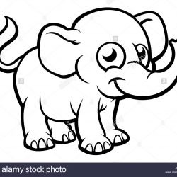 250x250 Baby Elephant Drawing Easy Cartoon Sketches Head Mom And Free