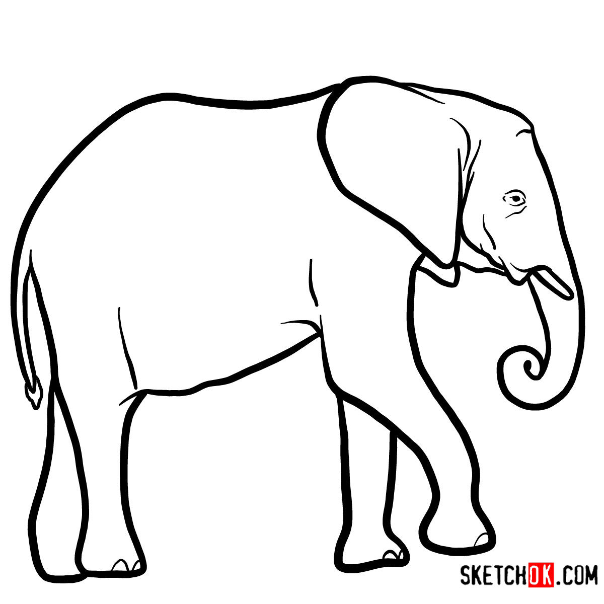 Elephant Drawing Images | Free download on ClipArtMag