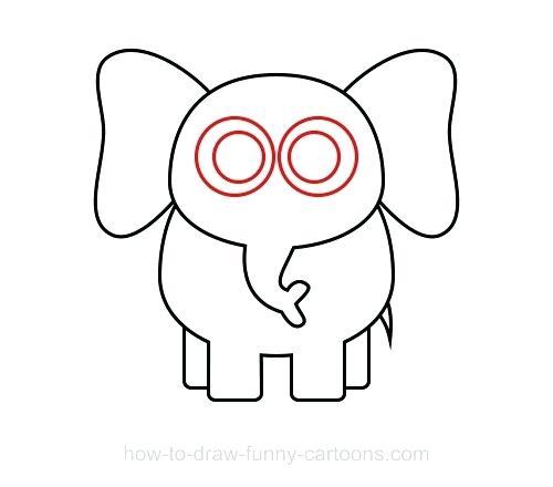 500x440 Draw An Elephant How To Draw An Elephant Kids Stuff Library Draw
