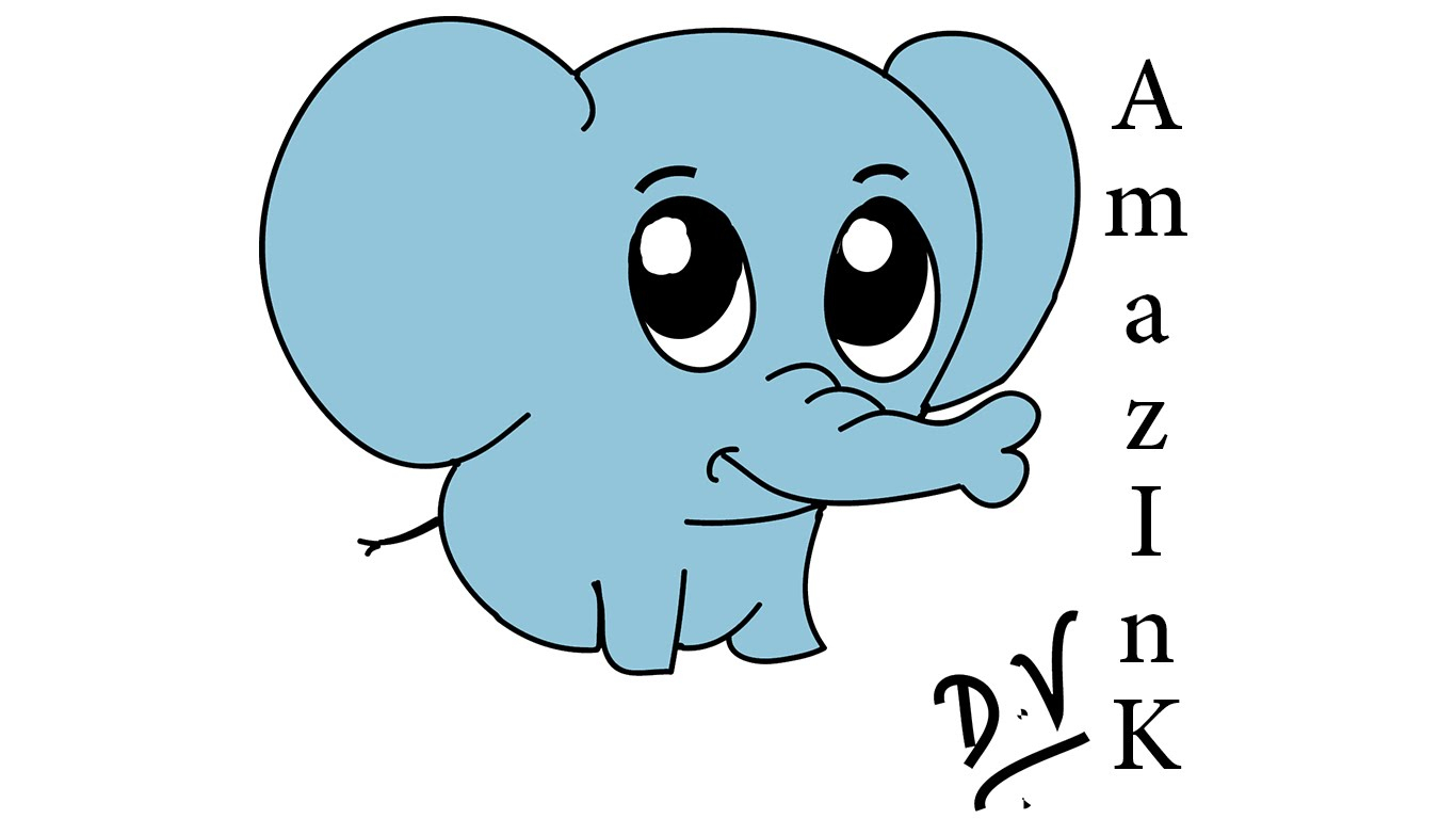 1366x768 Elephant Cartoon Drawing Steps Learn How To Draw A Baby Elephant