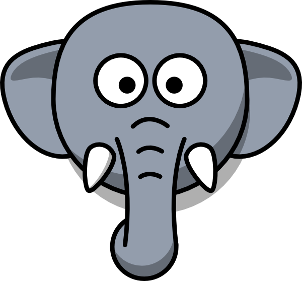 600x558 Elephants Simple Transparent Png Clipart Free Download