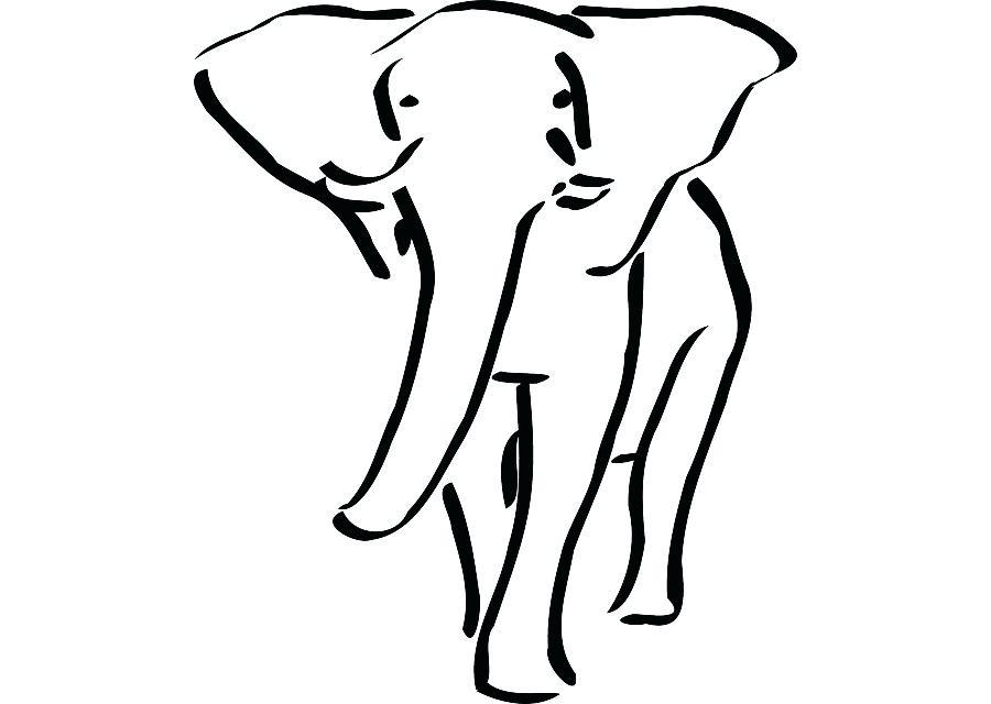 900x640 outline elephant simple elephant outline elephant outline vector