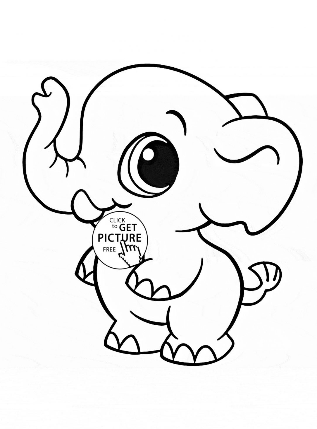1084x1465 Cute Elephant Drawing Pictures Simple Tumblr Sketches Best Cartoon