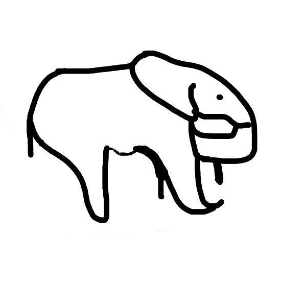 550x550 Elephant Shawn Mendes Tattoo Photographic Print