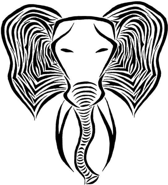 544x600 elephant tattoo designs elephant tattoo designs elephant