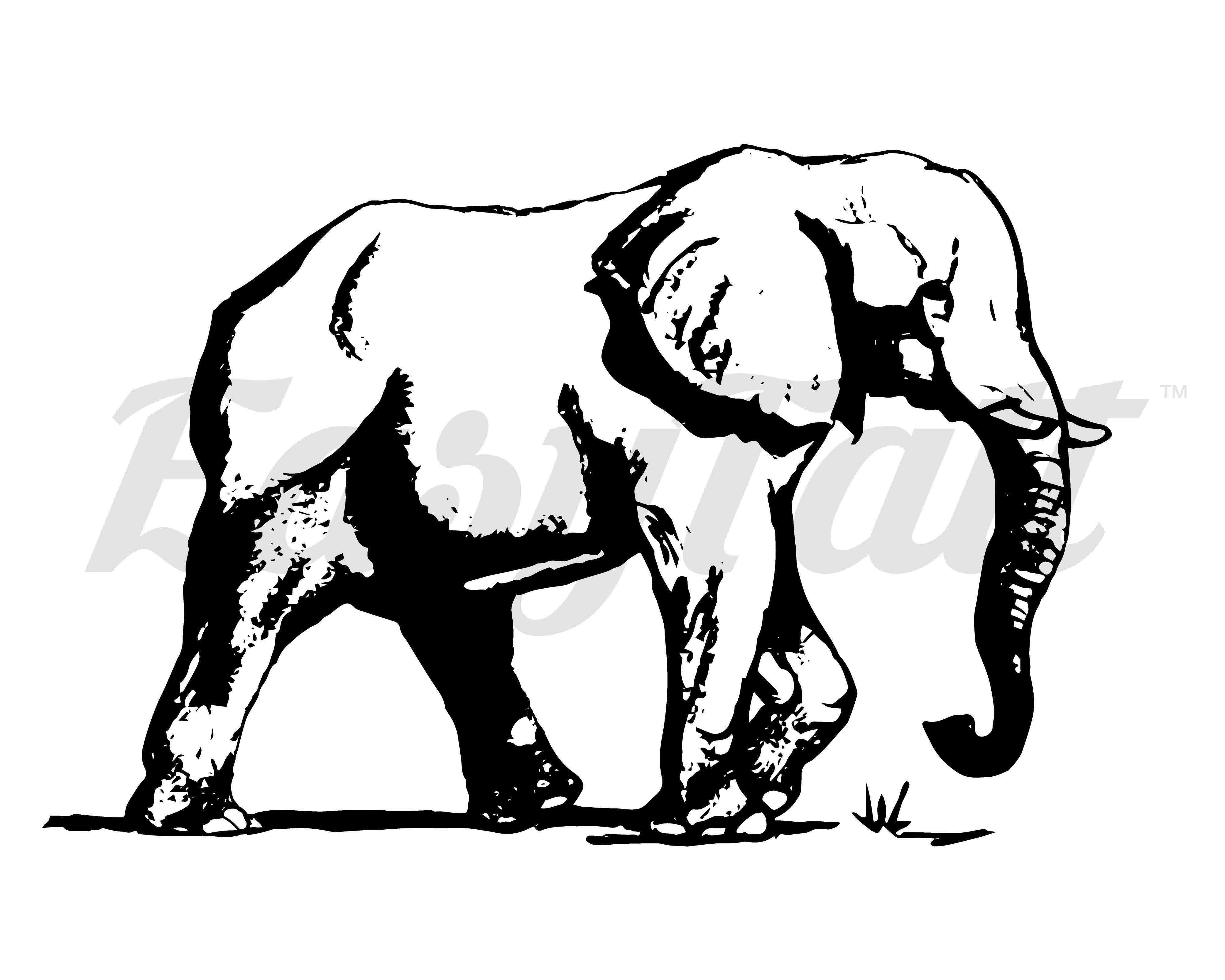 4000x3200 Elephant Temporary Tattoo And Elephant Fake Tattoos