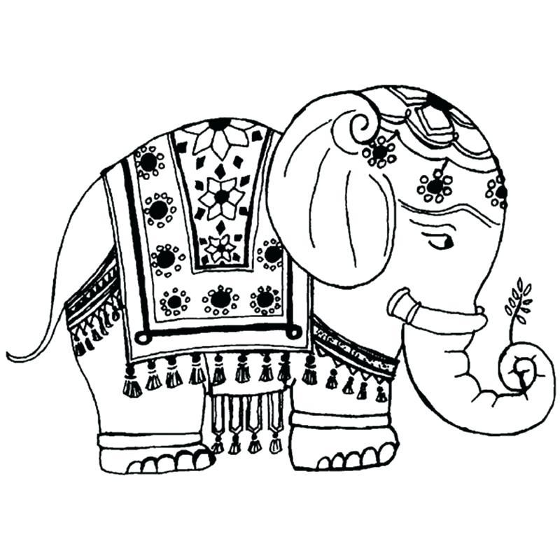 800x800 Simple Elephant Stencil Simple Elephant Stencil Elephant Outline