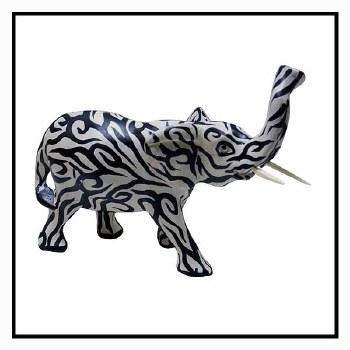 350x350 Tribal Tattoo Elephant