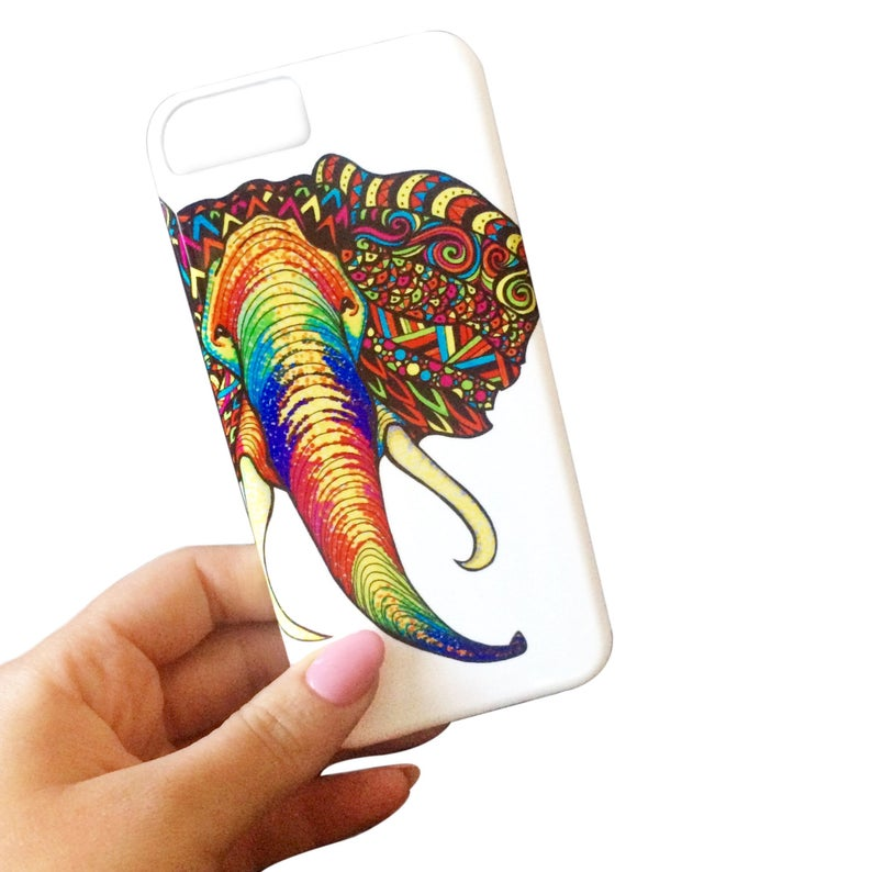794x794 Elephant Phone Case Iphone Case Animal Phone Case Etsy