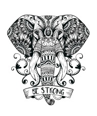 190x228 Tribal Elephant Iphone Case Spreadshirt