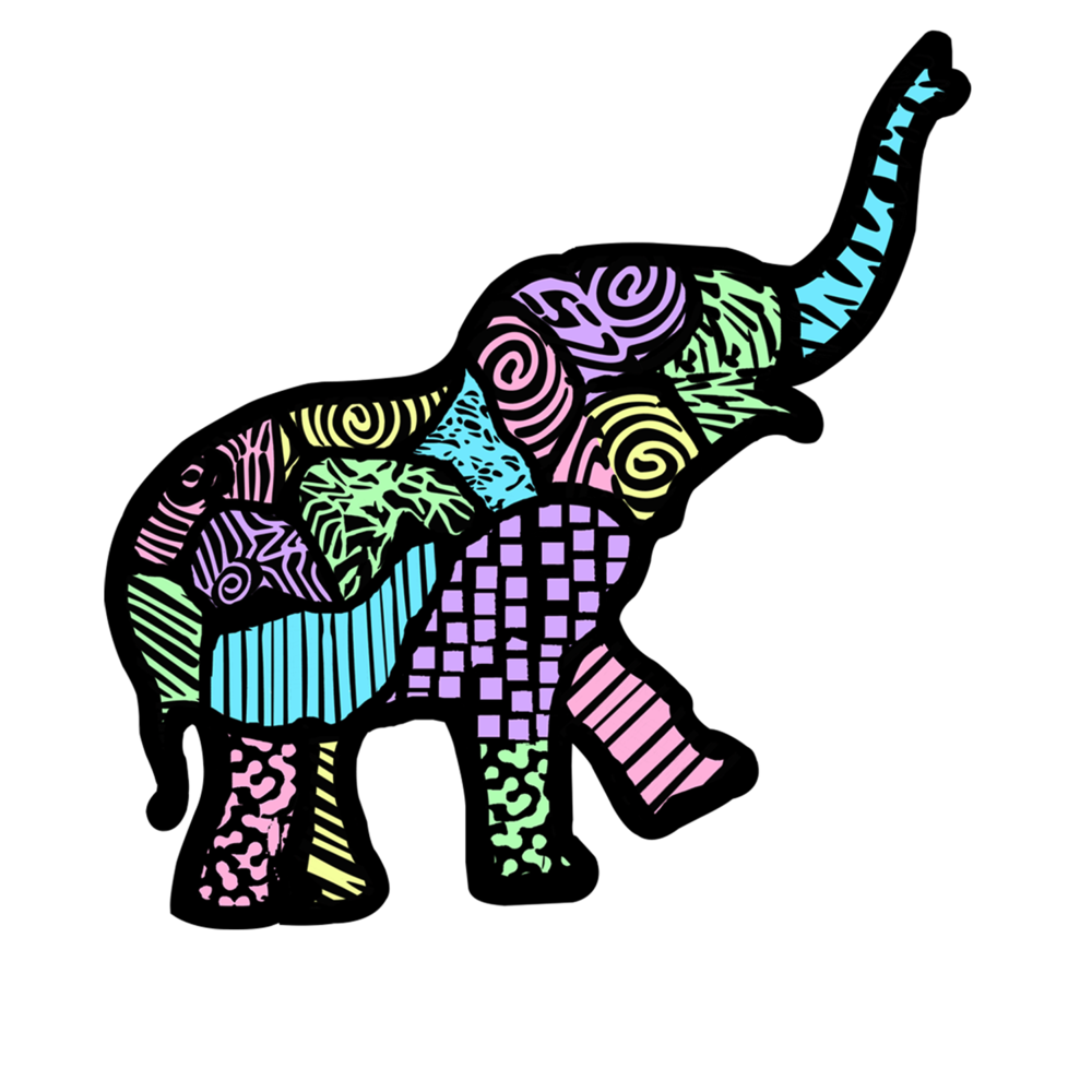 1000x1000 Collection Of Free Elephant Drawing Wallpaper Download On Ui Ex
