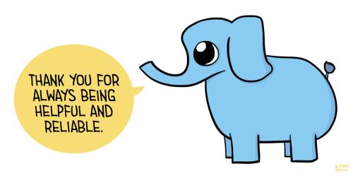 500x249 Elephant Clipart Trunk Up