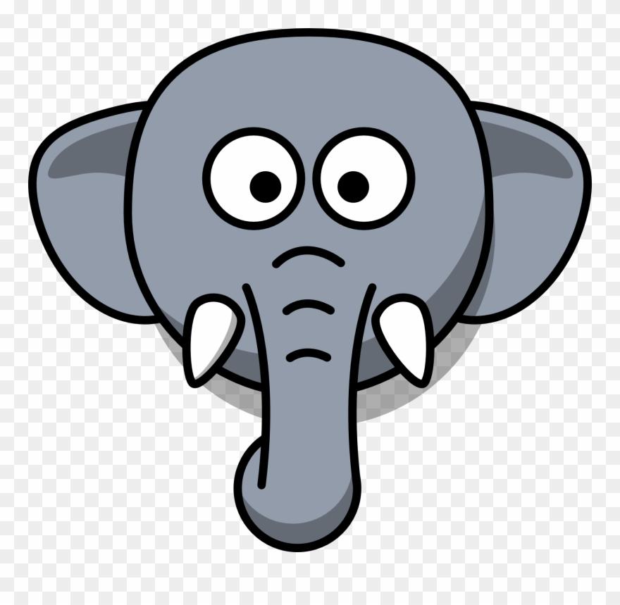 880x859 Simple Clipart Elephant