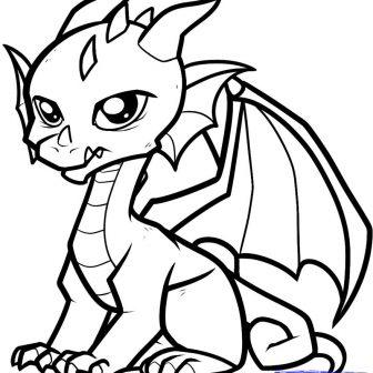 336x336 Cute Easy Animal Drawings Step