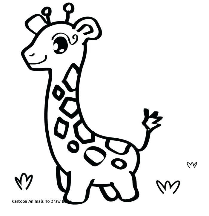 700x723 Animal Draw How To Draw Cartoon Animals Animal Drawings Ideas