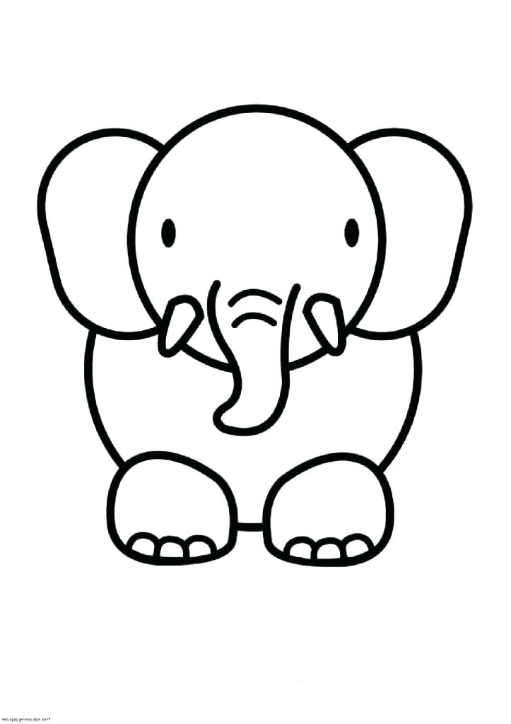 723x1024 Elephant Picture For Drawing Draw An Elephant African Elephant