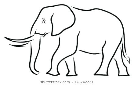 439x280 Elephant Picture For Drawing How To Draw An Elephant For Kids Draw