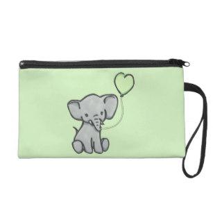 307x307 Cute Green Elephant Accessories Zazzle