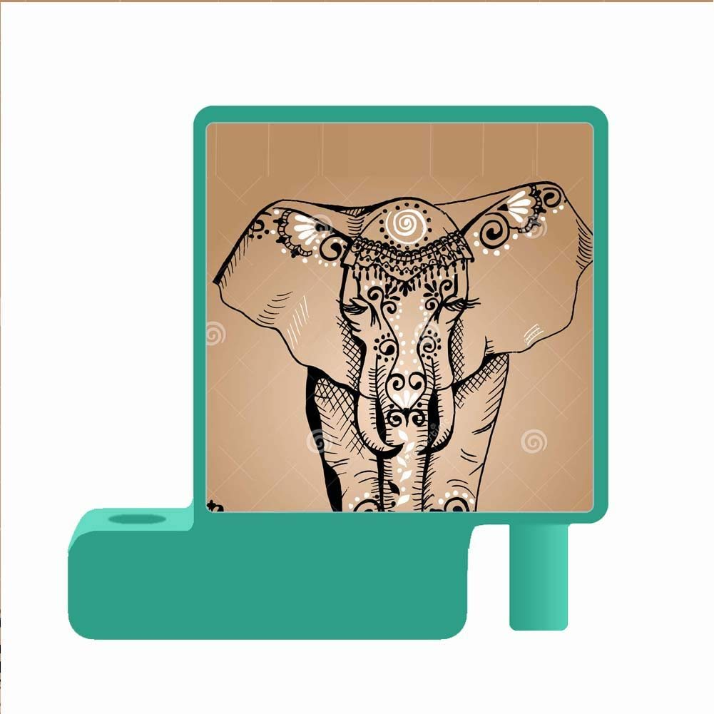 1001x1001 Use As Green Pen Holder Pc With Colorful Elephant