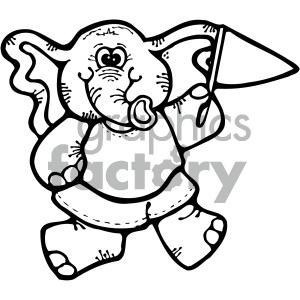 300x300 Elephant Clipart